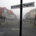 Schöningen im Nebel
