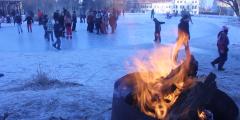 Schöningen unkommentiert - Eisparty des JFZ am 11.02.2012