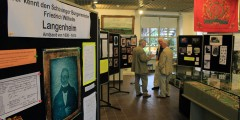 Ausstellung über die Familie Langenheim im Heimatmuseum