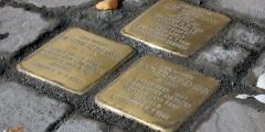 Schöningen unkommentiert - Stolperstein-Verlegung 21.10.2012